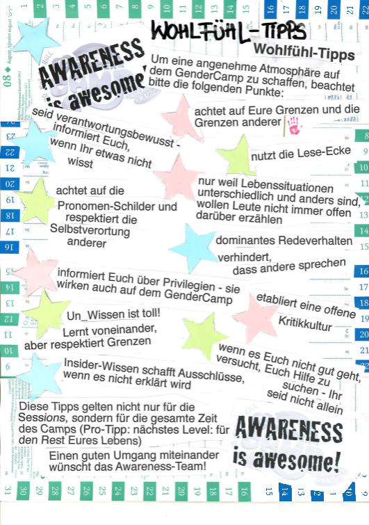 Awareness-Plakat