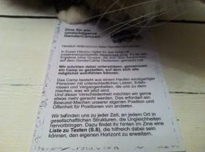 Bild: Hosentaschenzine unter Katzentatze, Schnurrhaare im Bild